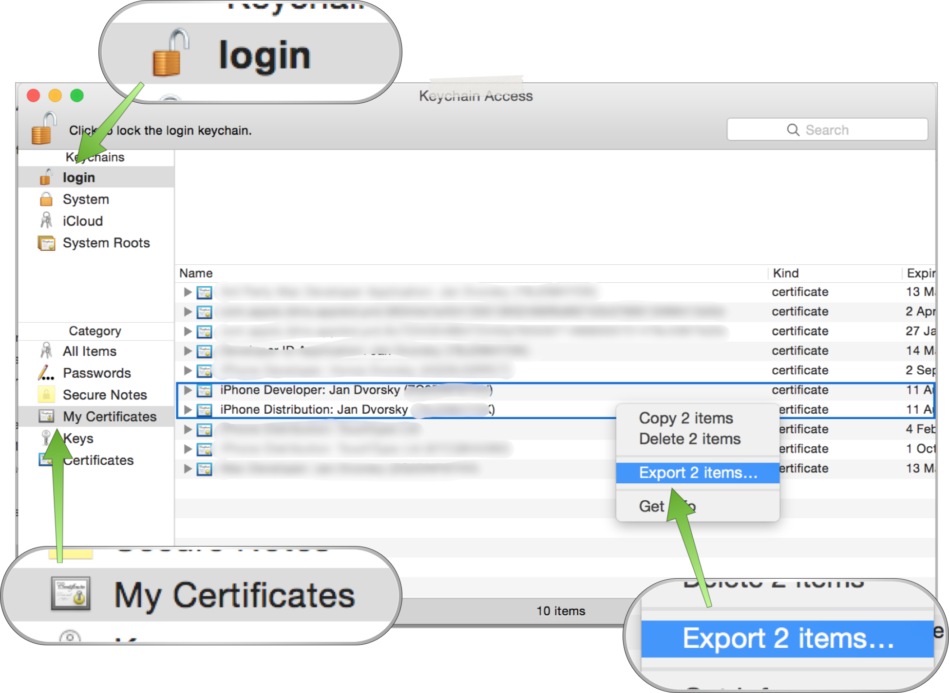 Xcode Server Tutorials: 4  Certificates & Provisioning